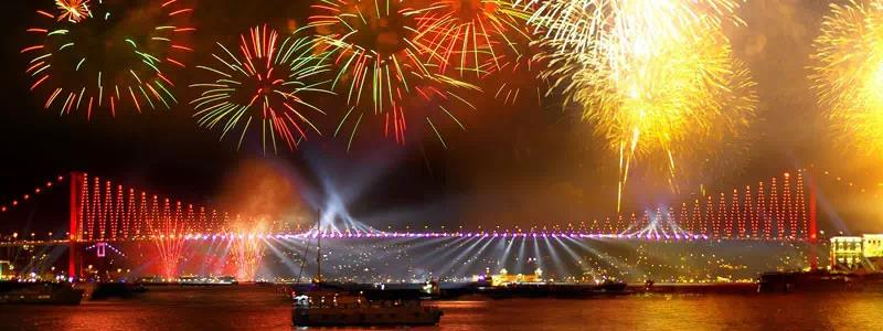 2020 New Year Party on Istanbul Bosphorus