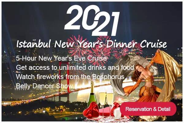 New Year's Eve Party Cruise in Istanbul 2021