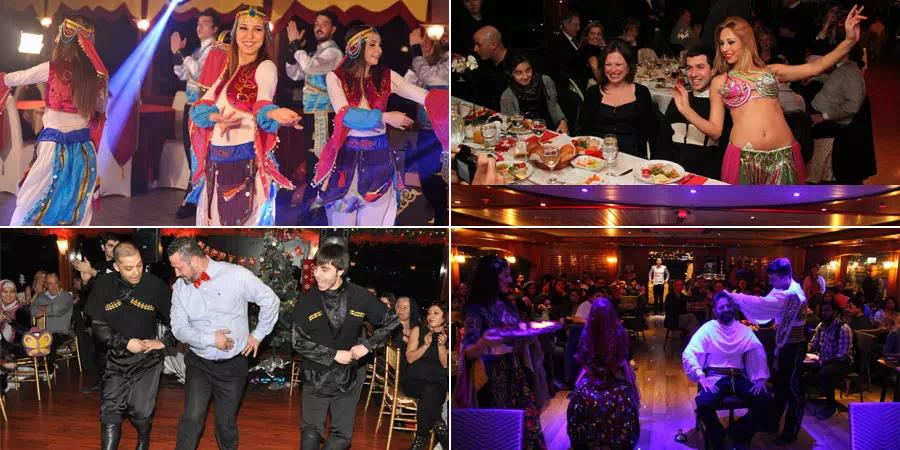 Istanbul Bosphorus Dinner Cruise with Turkish Night Show