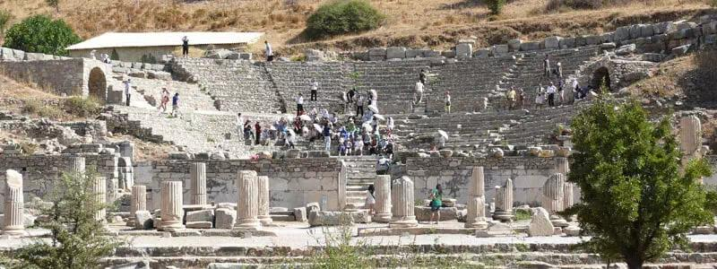 Smell history at Ephesus Odeon