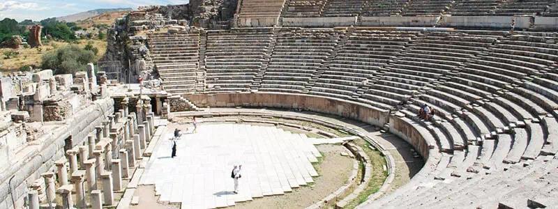 Great Theatre in Ephesus, Theatre in Ephesus