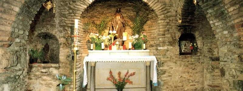Visit the House of The Virgin Mary