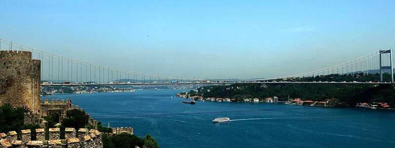 Istanbul Historical Venues on Bosphorus