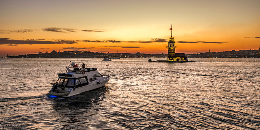 Istanbul Sunset Cruise on the Bosphorus