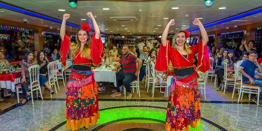 Istanbul Bosphorus Dinner Cruise with Ottoman Night